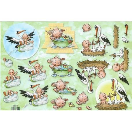 Geboorte / Ooievaar