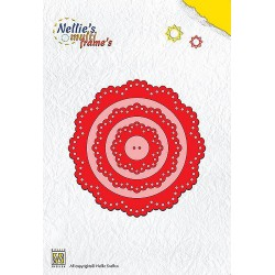 MFD020 / Nellies Multi Frame Die Flower