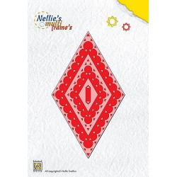 MFD021 / Nellies Multi Frame Die Diamond