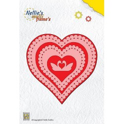 MFD022 / Nellies Multi Frame Die Heart