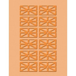 CR900-022 / Safety Dance Embossing Folder