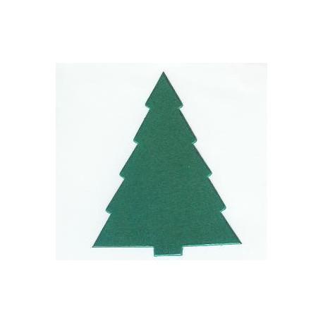 Kerstboom mini 10 stuks in zakje