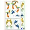 IT554 / Knipvel Birds Blue