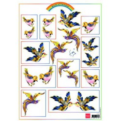 IT557 / Knipvel Birds Gold