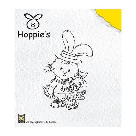 Hop001 / Hoppie little sailor stempel
