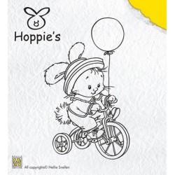 Hop003 / Hoppie biking stempel