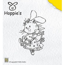 Hop004 / Hoppie favorite doll stempel