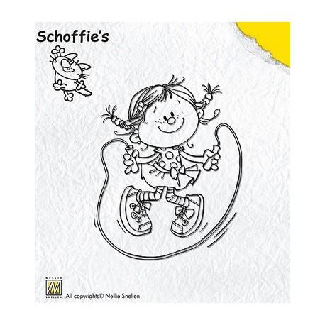 Schof003 / Schoffie skipping stempel