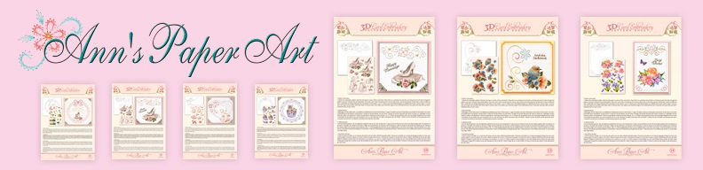 Ann's paper art borduurvellen