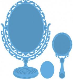 lr0321 Vintage Mirror