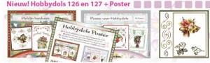 Hobbydols 126 en 127 en bijbehorende poster