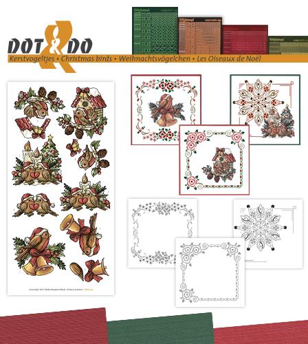 DODO041 kerstvogeltjes