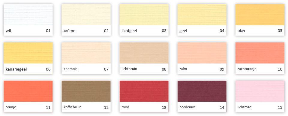 kleurkaart a