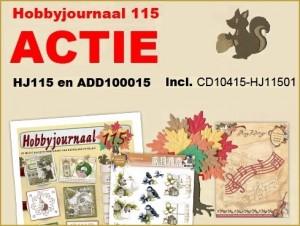 Hobbyjournaal 115 set