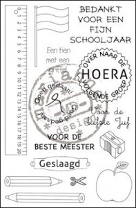 cs0909 Clear stamp school NL