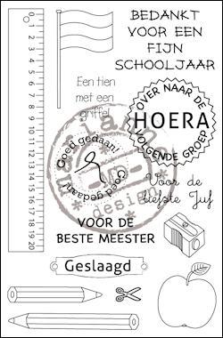 cs0909 Clear stamp school NL