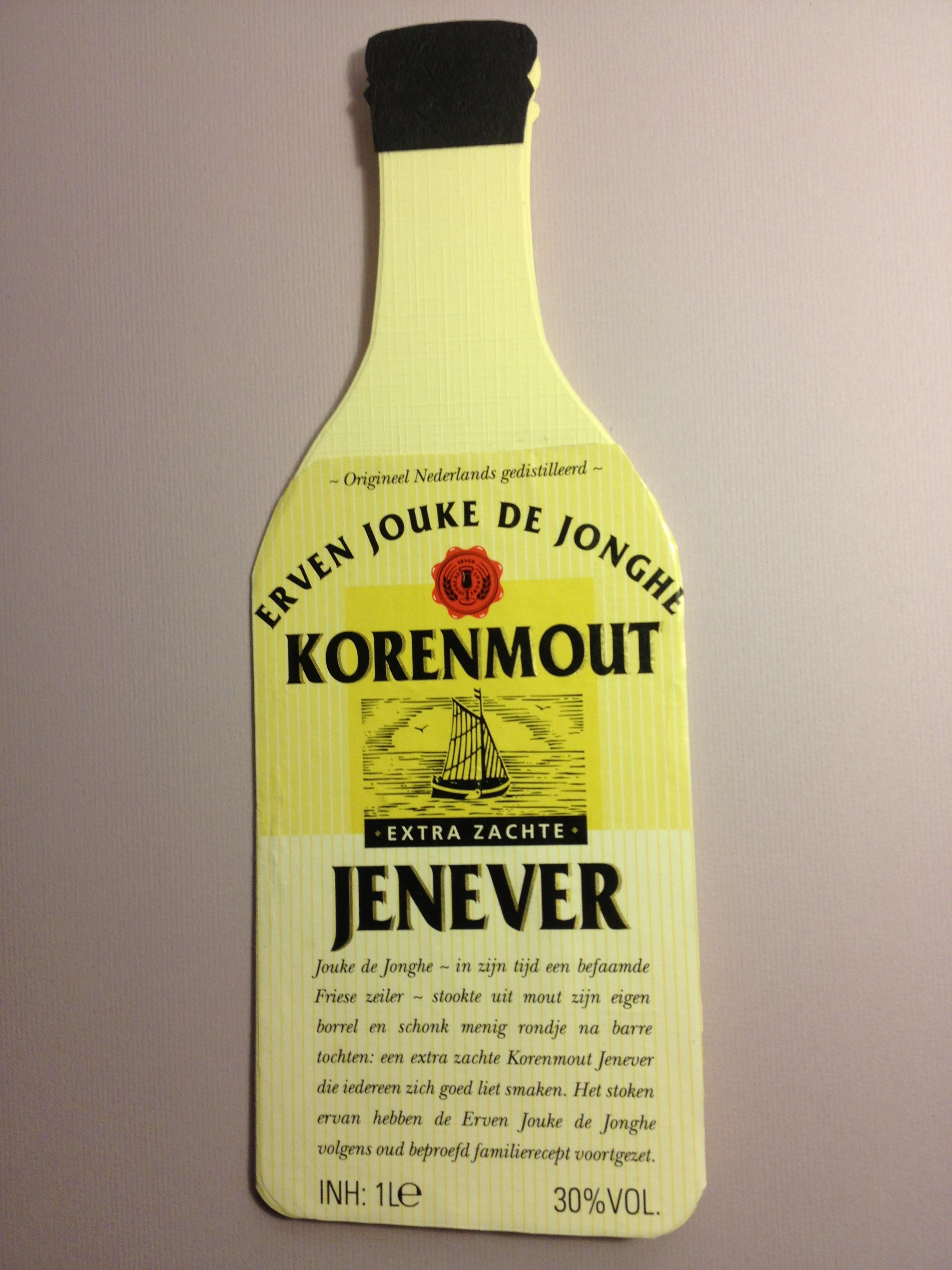 Jenever fles