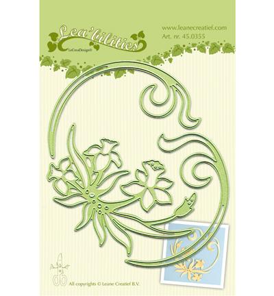 lcr45.0355 Lea'bilitie – Daffodil & swirls