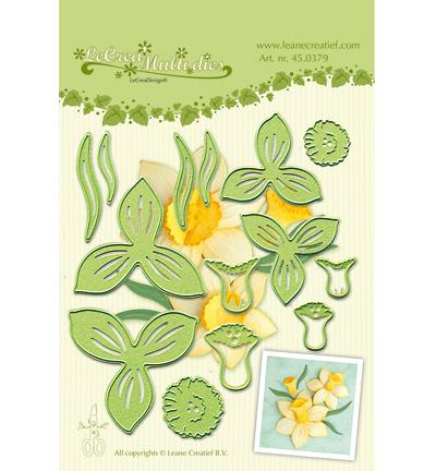 lcr45.0379 Lea'bilitie – Multi die flower 007 narcis
