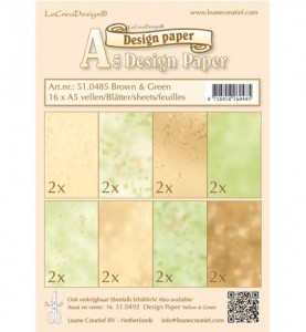 lcr51.0485 Design Paper - Brown-green