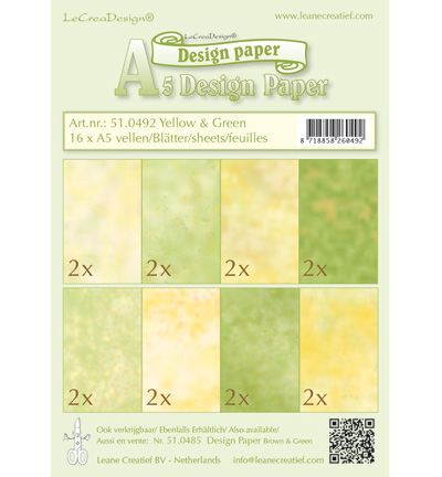 lcr51.0492 Design Paper – Yellow-green