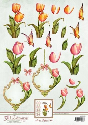APA3D006 tulips
