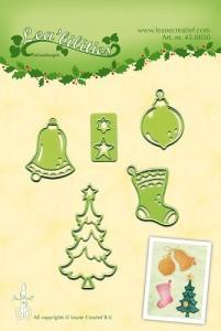Snijmal kerst ornamentjes